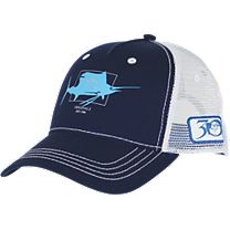 Guy Harvey Logo Trucker Hat