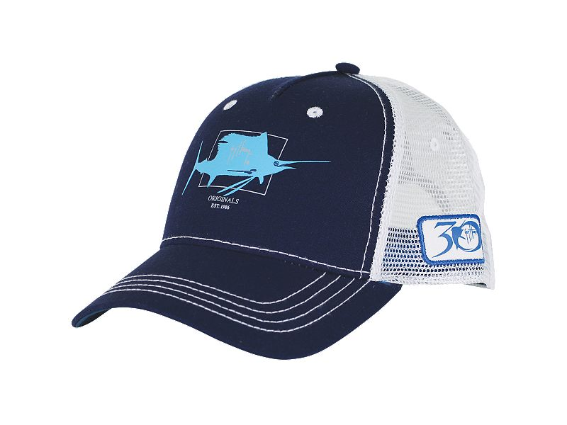 Guy Harvey Logo Trucker Hat