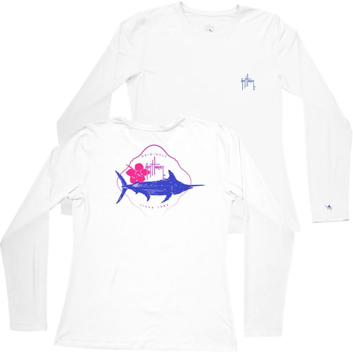 Guy Harvey Swift Pro UVX Women's Long Sleeve Shirt