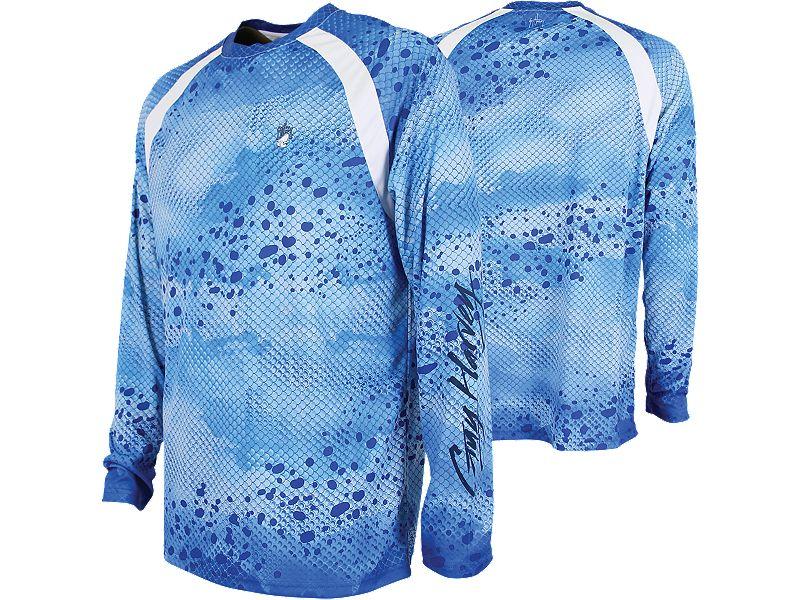 Guy Harvey Mahi Pro UVX Performance Long Sleeve Shirt