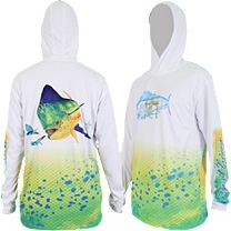 Guy Harvey Dorado Hood Pro UVX Performance Long Sleeve Shirt