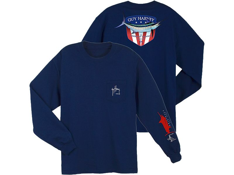Guy Harvey Down Home Long Sleeve Shirt