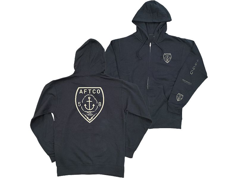 AFTCO Chief Hooded Zip Sweatshirt