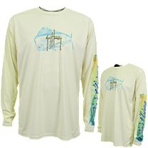 Guy Harvey Mahido Pro UVX Performance Long Sleeve Shirt