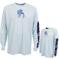 Guy Harvey Skysailor Pro UVX Performance Long Sleeve Shirt