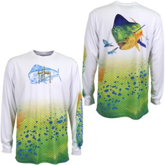 Guy Harvey Dorado Pro UVX Performance Long Sleeve Shirt
