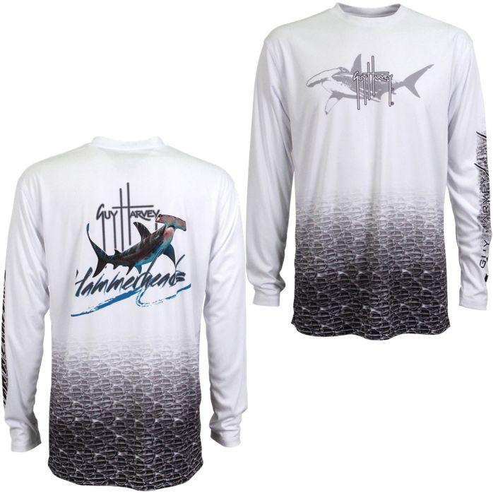Guy Harvey Hammerhead Pro UVX Performance Long Sleeve Shirt