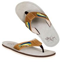 Guy Harvey Dolphin Sandals