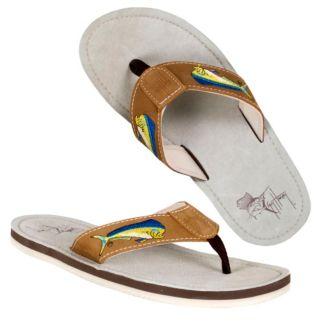 Guy Harvey Dolphin Sandals