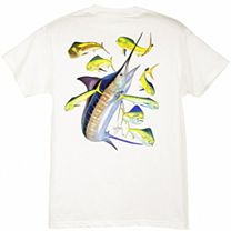 Guy Harvey Marlin Dorado Youth T-Shirt