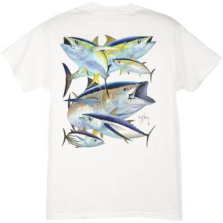 Guy Harvey Tuna Collage Youth T-Shirt