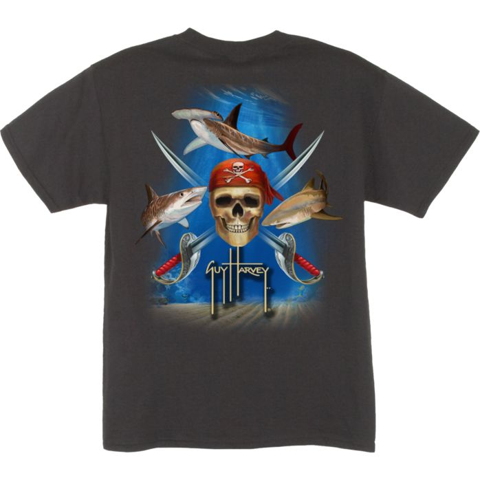 Guy Harvey Pirate Shark Youth T-Shirt