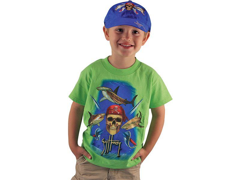 Guy Harvey Pirate Shark Youth T-Shirt