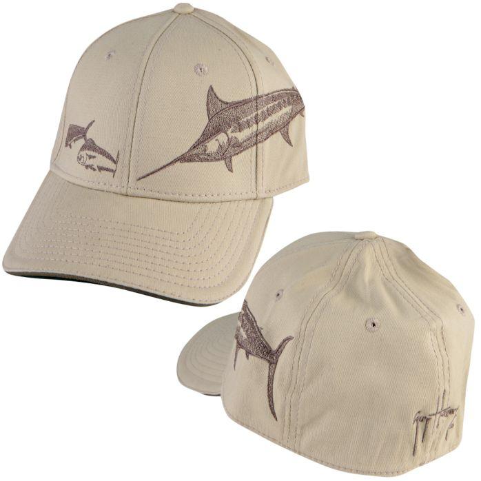 Guy Harvey Marlin Etching Hat