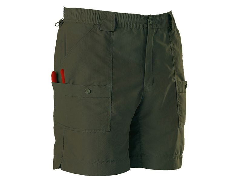 Aftco bluewater m01l long traditional fishing shorts for Best fishing shorts