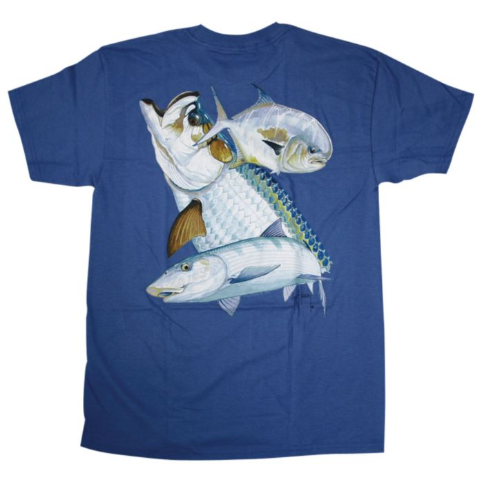 Guy Harvey Flats Slam Youth T-Shirt