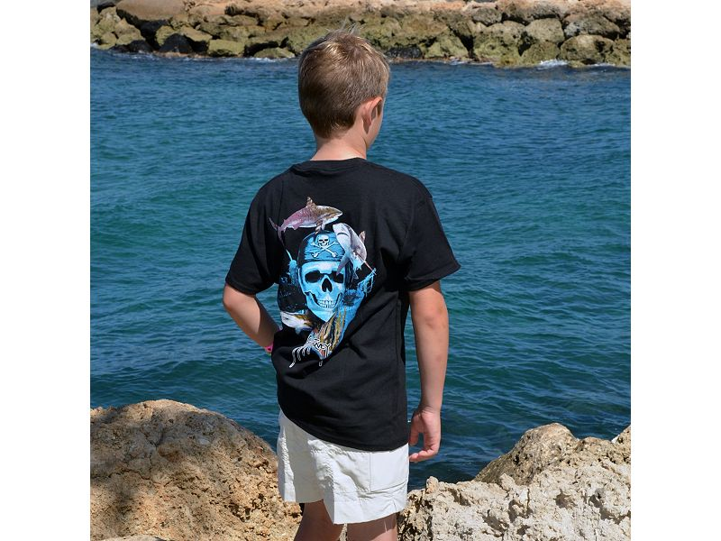 Guy Harvey Pirate Reef Youth T-Shirt