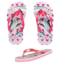 Guy Harvey Dolphin Love Girls Sandals