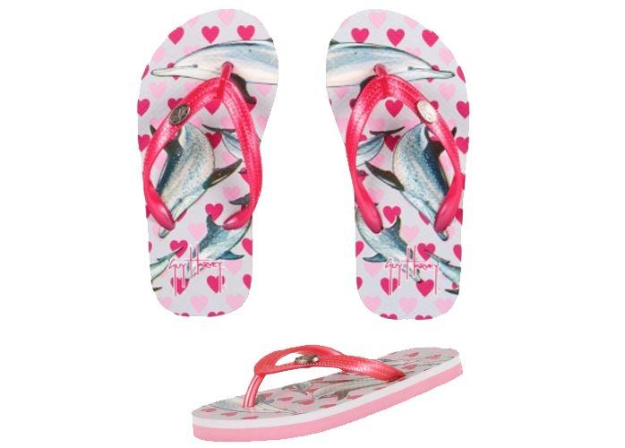 Guy Harvey Dolphin Love Girls Sandals
