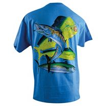 Guy Harvey Bull Dolphin, Wahoo, Kingfish T-Shirt