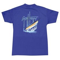 Guy Harvey Blue Youth T-Shirt