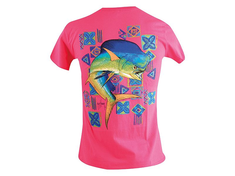 Guy Harvey Mahi Mahi Ladies T-Shirt