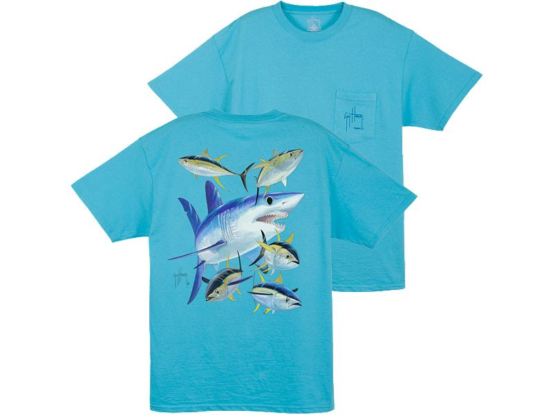 Guy Harvey Mako Shark T-Shirt