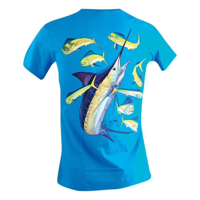 Guy Harvey Marlin Dorado Ladies T-Shirt