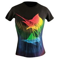 Guy Harvey Underwater Sail Ladies T-Shirt