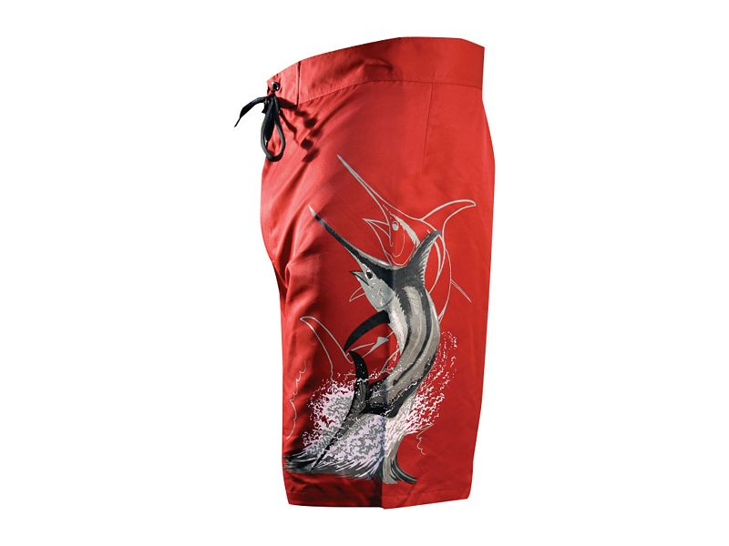 Guy Harvey Swordfish Strike Boardshorts