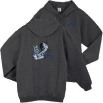 Guy Harvey Sailfish Boat Zip Hoody