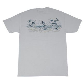 Guy Harvey Offshore Etching T-Shirt