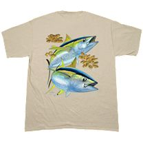 Guy Harvey Yellowfin Tuna T-Shirt