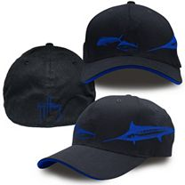 Guy Harvey Marlin Etching Hat