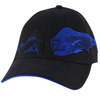 Guy Harvey Dorado Etching Hat