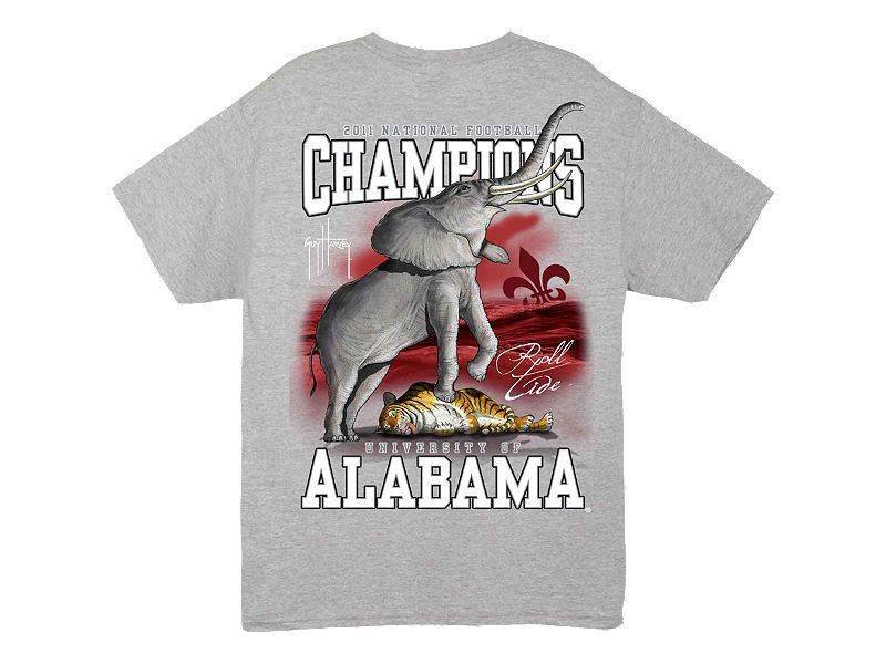 Guy Harvey Univ. of Alabama Collegiate Championship T-Shirt
