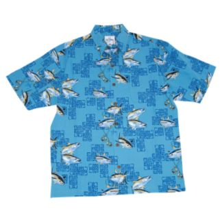 Guy Harvey Oceana Tuna Buttondown Shirt
