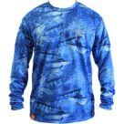 Guy Harvey Legend Boys Camo Performance Long Sleeve Shirt