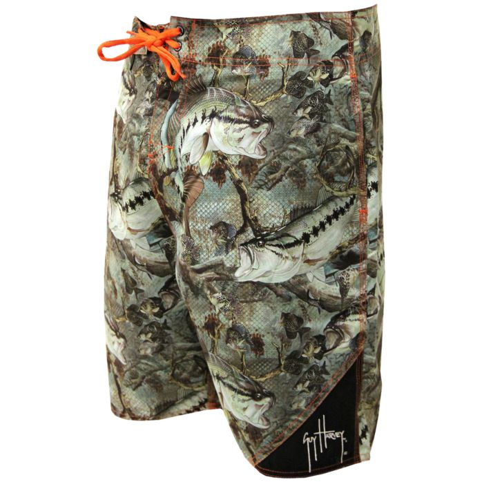 Guy Harvey Strike Camo Boardshorts