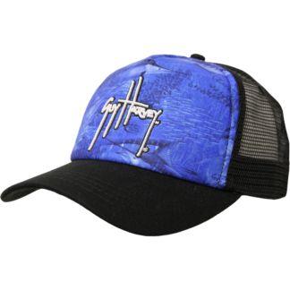 Guy Harvey Legend Camo Trucker Hat