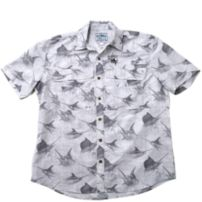 Guy Harvey Billfish Rain Tech Travel Buttondown Shirt