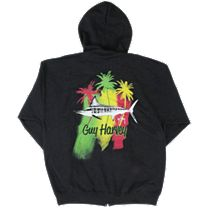 Guy Harvey Striper Zip Front Hoody