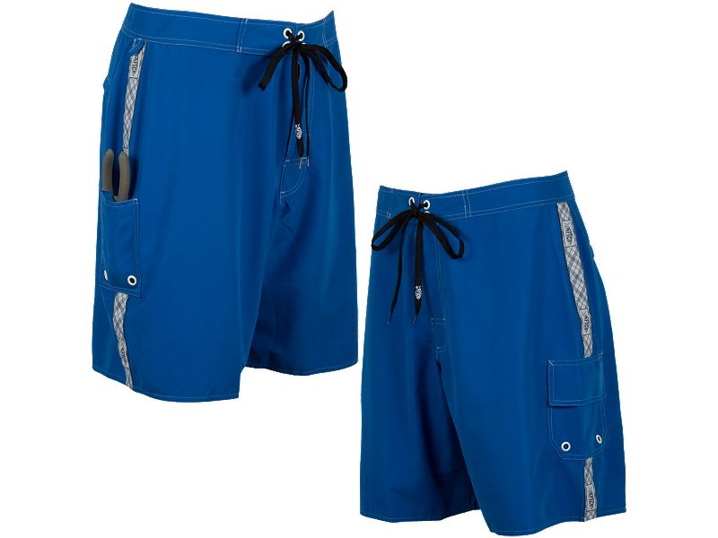 AFTCO M04 Plaid Taping Deckhand Boardshorts