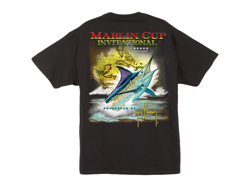 Guy Harvey Marlin Cup T-Shirt