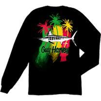 Guy Harvey Striper Long Sleeve Shirt
