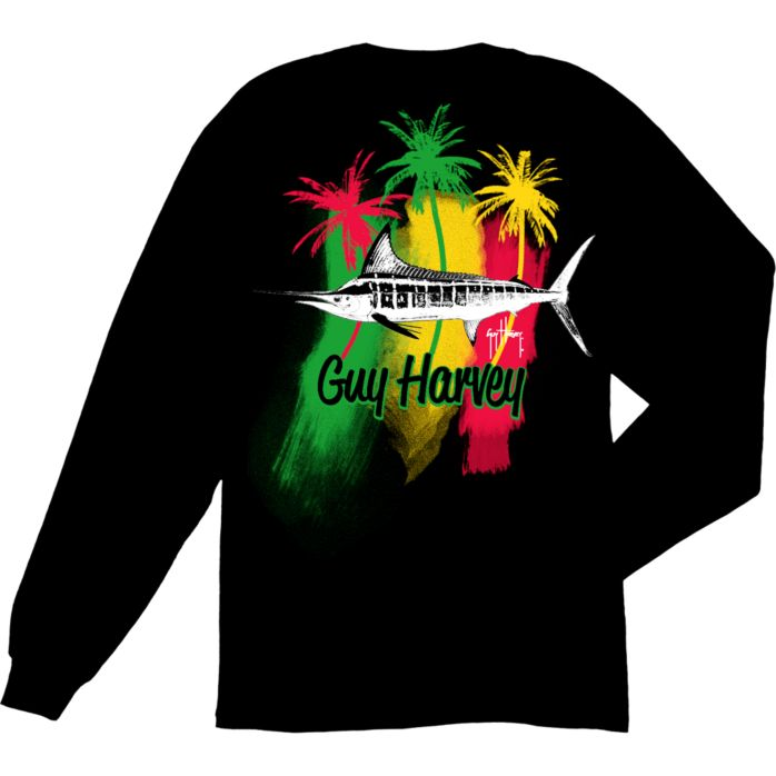 Guy Harvey Striper Long Sleeve Shirt