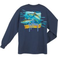 Guy Harvey Tuna Splash Long Sleeve Shirt