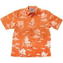 Guy Harvey Sailfish Etching Buttondown Shirt