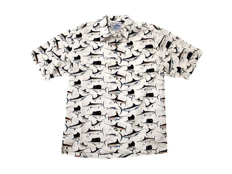 Guy Harvey Billfish Buttondown Shirt