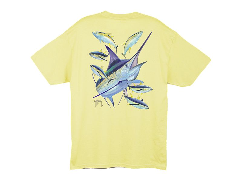 Guy Harvey Marlin Yellowfin T-Shirt